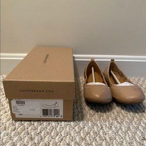 Brand New Lucky Brand Size 5 Ballet Flats